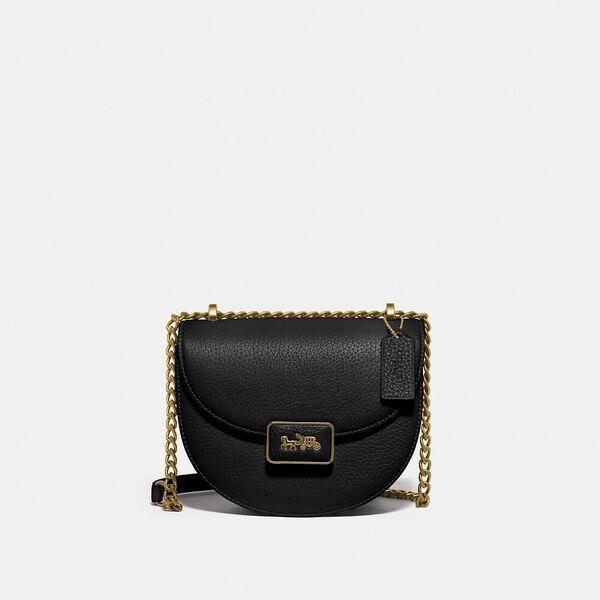 Fashion Runway Coach Alie Saddle Bag
