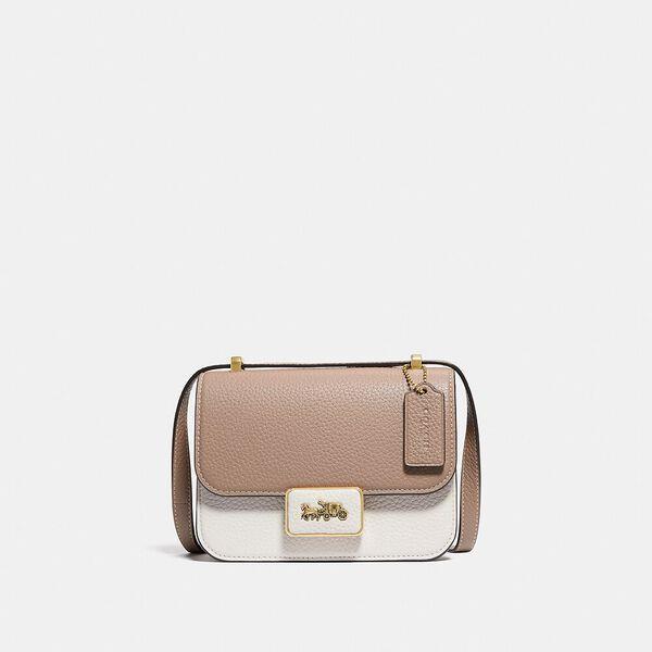 Fashion Runway Coach Alie Shoulder Bag 18 In Colorblock