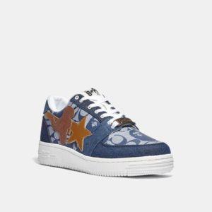 Fashion Runway Coach BAPE x Coach Bapesta Sneaker