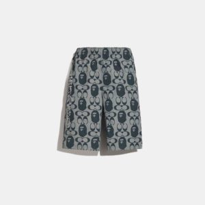 Fashion Runway Coach BAPE x Coach Chambray Shorts
