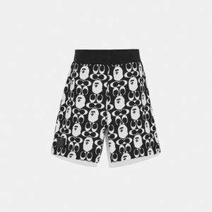Fashion Runway Coach BAPE x Coach Shorts