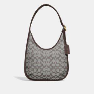 Fashion Runway Coach Ergo Shoulder Bag In Signature Jacquard