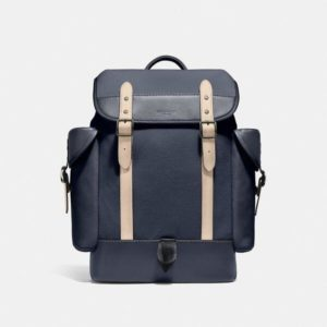 Fashion Runway Coach Hitch Backpack In Organic Cotton Canvas