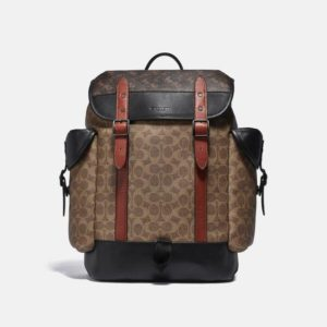 Fashion Runway Coach Hitch Backpack In Signature Canvas With Horse And Carriage Print