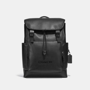 Fashion Runway Coach League Flap Backpack