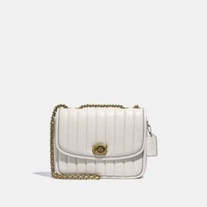 Fashion Runway Coach Madison Shoulder Bag With Quilting