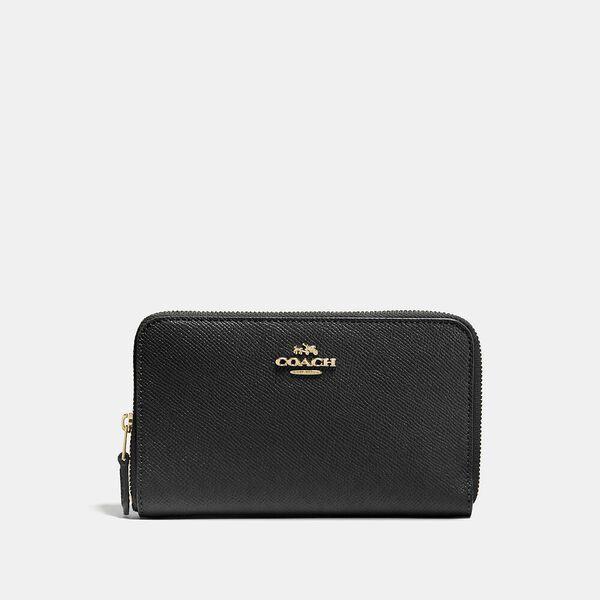 Fashion Runway Coach Medium Zip Around Wallet
