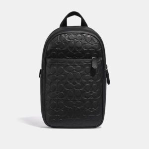 Fashion Runway Coach Metropolitan Soft Pack In Signature Leather