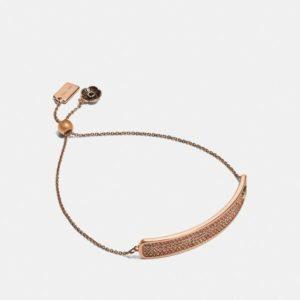 Fashion Runway Coach Slider Bracelet