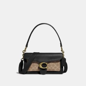 Fashion Runway Coach Tabby Shoulder Bag 26 With Signature Canvas