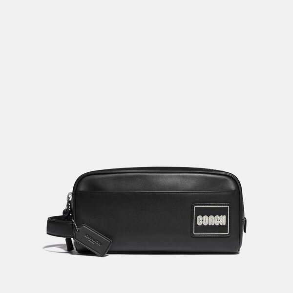 Fashion Runway Coach Travel Kit With Coach Patch