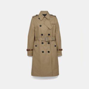 Fashion Runway Coach Trench Coat
