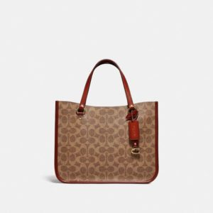 Fashion Runway Coach Tyler Carryall 28 In Signature Canvas