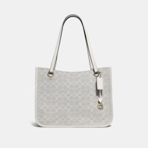 Fashion Runway Coach Tyler Carryall In Signature Canvas