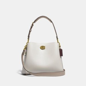 Fashion Runway Coach Willow Shoulder Bag In Colorblock