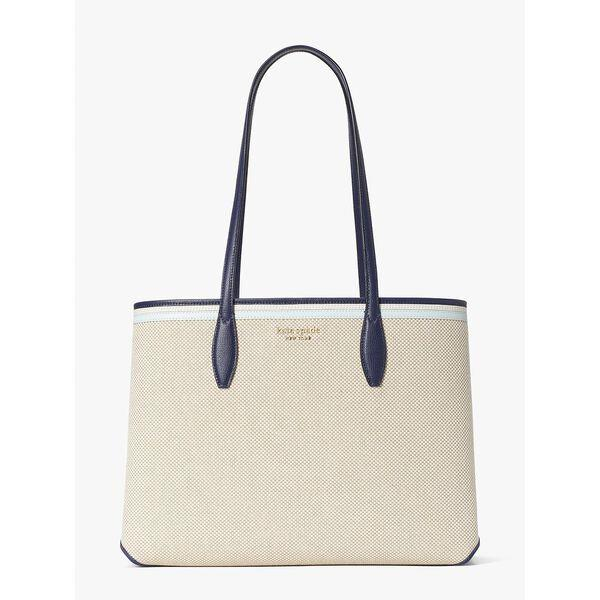 Fashion Runway - all day canvas large tote