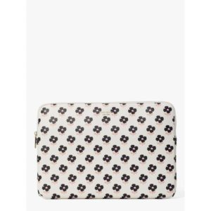 Fashion Runway - block floral laptop sleeve