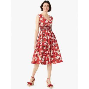 Fashion Runway - botanical garden poplin dress