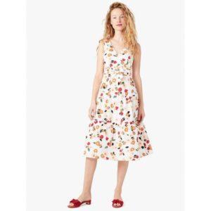 Fashion Runway - botanical garden tiered dress