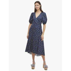 Fashion Runway - dainty bloom wrap dress