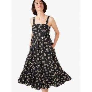 Fashion Runway - daisy dots al fresco midi dress