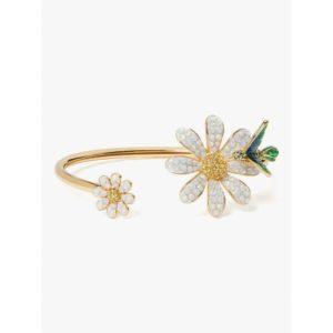 Fashion Runway - dazzling daisy flex cuff