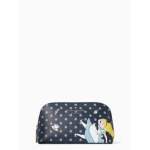 Fashion Runway - disney x kate spade new york alice in wonderland small makeup bag