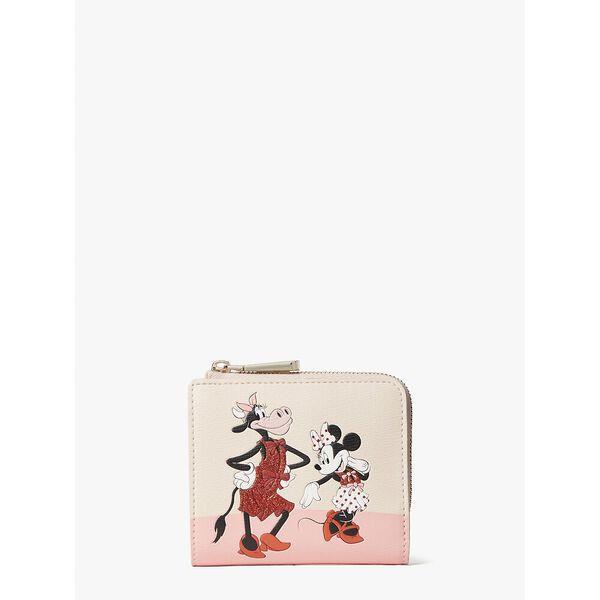 Fashion Runway - disney x kate spade new york clarabelle & friends small bifold wallet