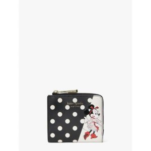 Fashion Runway - disney x kate spade new york minnie mouse small bifold wallet