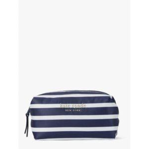 Fashion Runway - everything puffy stripes medium cosmetic case