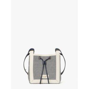 Fashion Runway - grab fabric small bucket bag