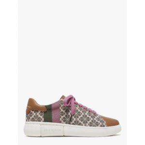 Fashion Runway - keswick spade flower jacquard sneakers