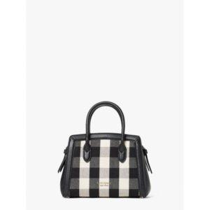Fashion Runway - knott gingham mini satchel