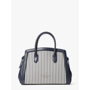 Fashion Runway - knott stripe medium satchel