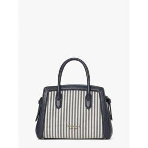 Fashion Runway - knott stripe mini satchel