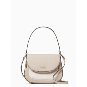 Fashion Runway - leila colorblock medium flap shoulder bag