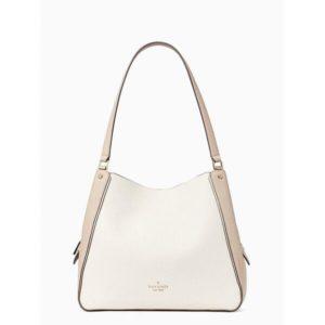 Fashion Runway - leila colorblock medium triple compartment shoulder bag