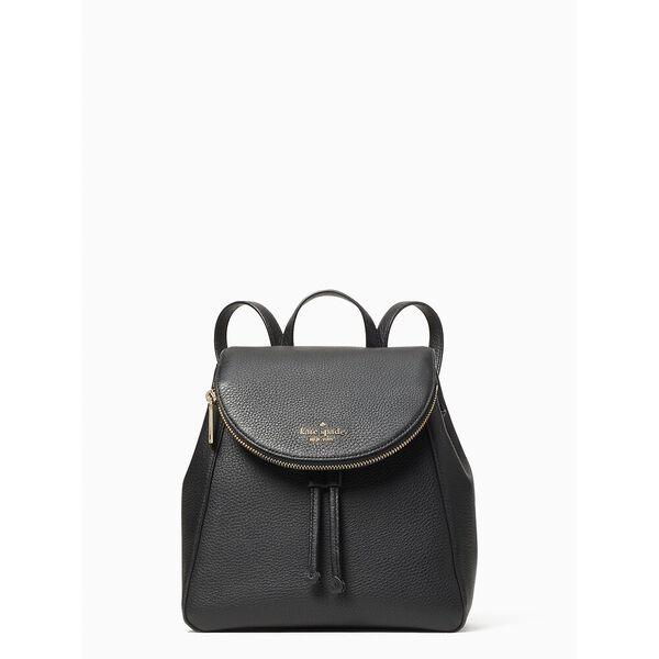 Fashion Runway - leila medium flap backpack