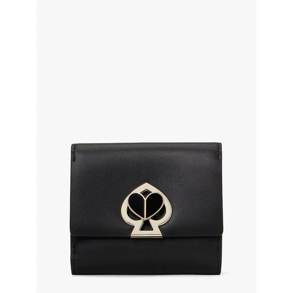 Fashion Runway - nicola twistlock bifold flap wallet