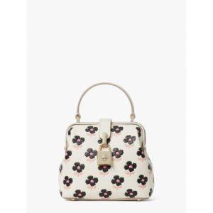 Fashion Runway - remedy block print floral small top-handle bag