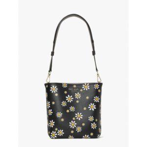 Fashion Runway - river daisy dots medium bucket bag