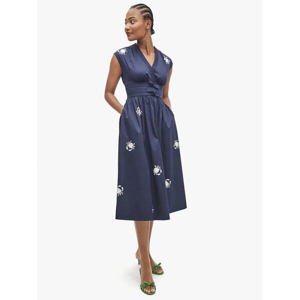Fashion Runway - snappy poplin bow dress