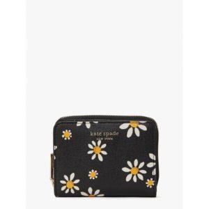 Fashion Runway - spencer daisy dots small compact wallet