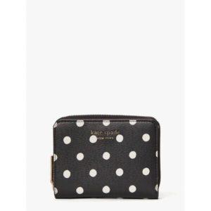 Fashion Runway - spencer sunshine dot small compact wallet
