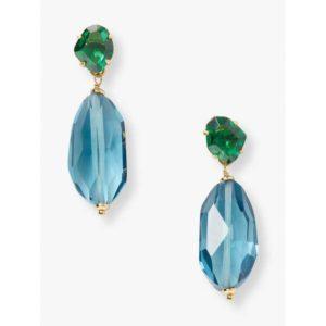 Fashion Runway - treasure trove drop earrings